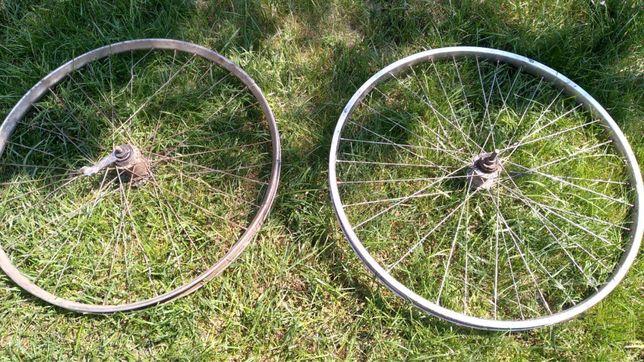 Продам запчасти на велосипед колеса руль вилка