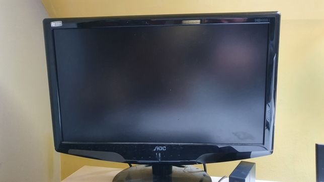 Monitor AOC 18,5 stan idealny