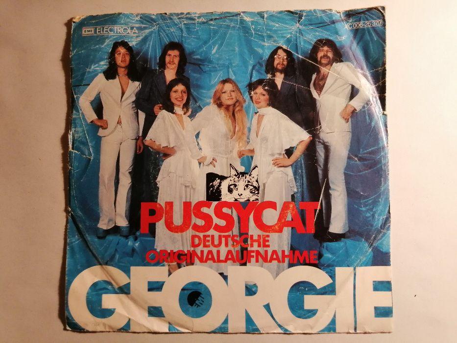 """Pussycat - Georgie single 7"""" VG 1976 EMI Electrola winyl Bydgoszcz - image 1"""