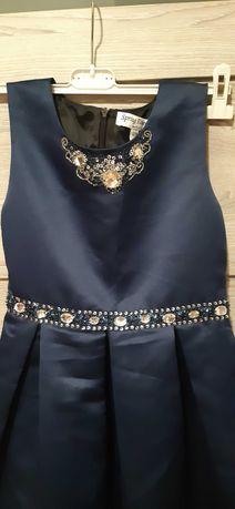 suknia dla księżniczki 122-128