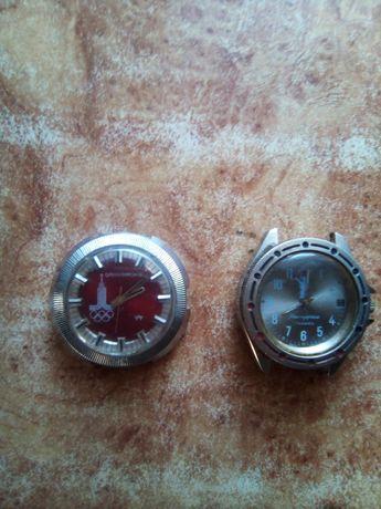 3000 руб часы олимпийские СССР оригинал не на ходу командирские и.т