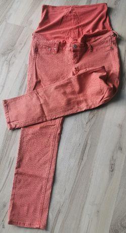 Spodnie ciążowe H&M 40 malinowe