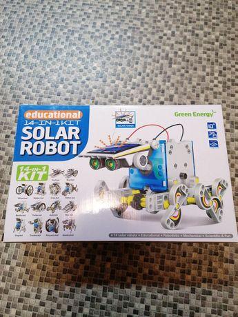 Конструктор трансформер на солнечных батареях Solar Robot робот Kit 14