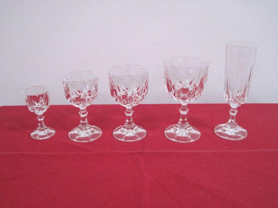 Vista Alegre serviço de copos de Cristal