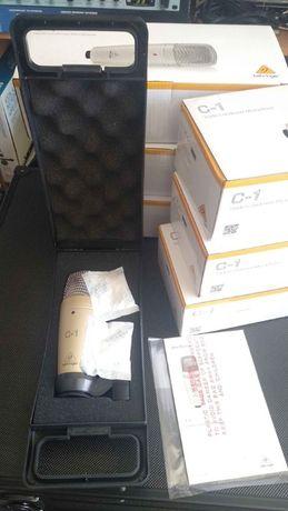 Behringer C1, C1U ou C3 microfone de estúdio novos, faço envio