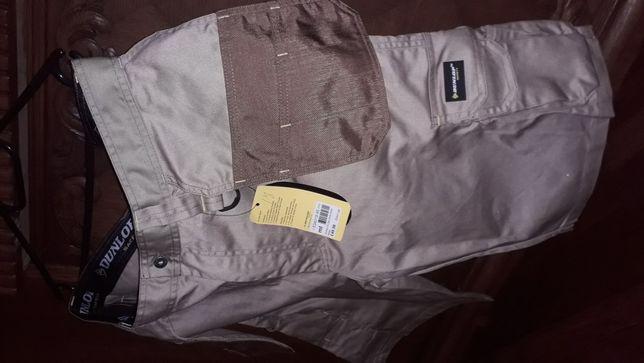 Dunlop spodnie dekarskie robocze krótkie Cordura Nowe! Rozm.Xl