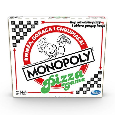 Monopoly pizza GRA planszowa NOWA