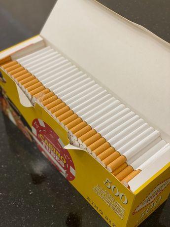 CASINO 500 1 ЯЩ Гильзы для сигарет, для табака, сигаретные гильзы