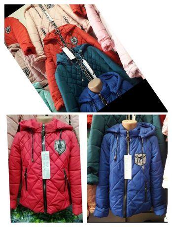 Демісезонна курточка для дівчинки від 134 по 158 розмір