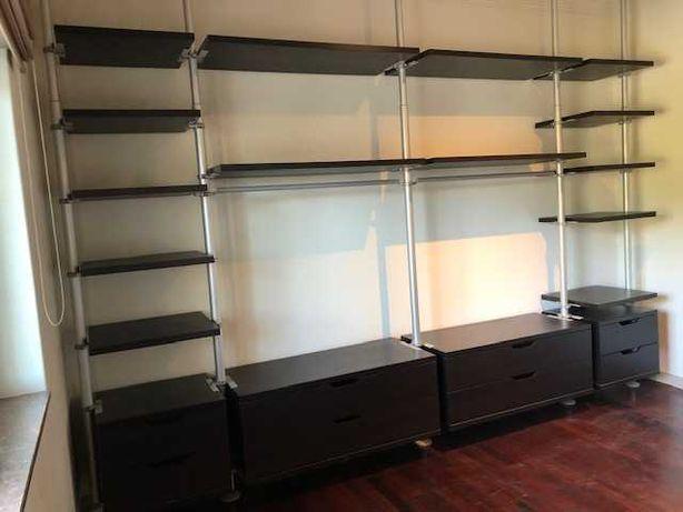 Estante roupeiro modular IKEA