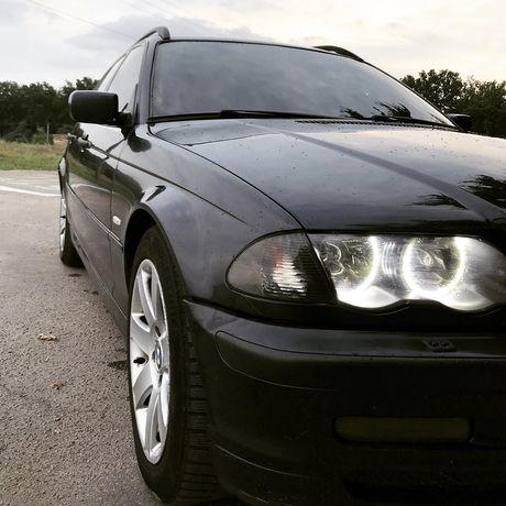 BMW E46 320D turbo