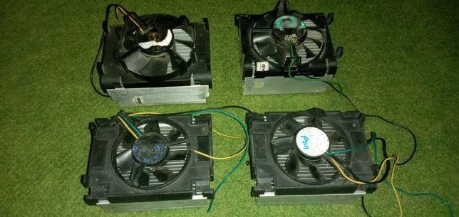 Радиатор охлаждения, вентилятор, кулер