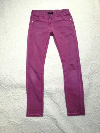 Spodnie dziewczece roz152 Miss Reporter ,fioletowe