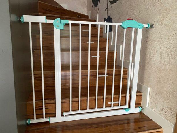 2 barierki bramki ochronne na schody + 4 rozszerzenia i gratis