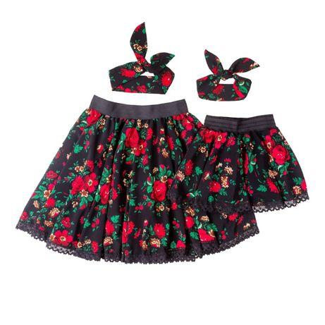 spódnice góralskie cleo- folk- mama i córka