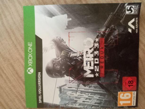 25 значный код на игру Xbox one, Metro 2033 redux