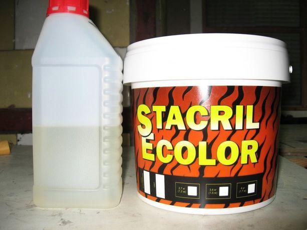 Акрил для реставрации ванн Plastall, STACRIL ECOLOR
