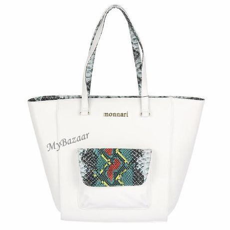 Duża torba Monnari 0831 biała
