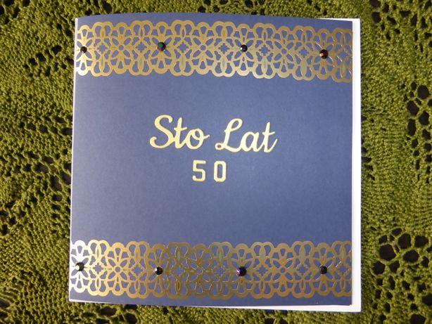 Kartka Urodzinowa 50 Urodziny, Pięćdziesiątka