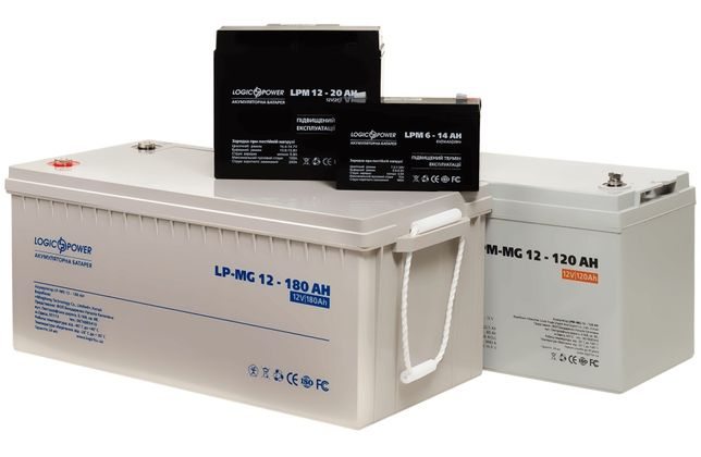 Акумулятор тяговий, гелевий, мультигелевий, кислотний, AGM, lifePo4