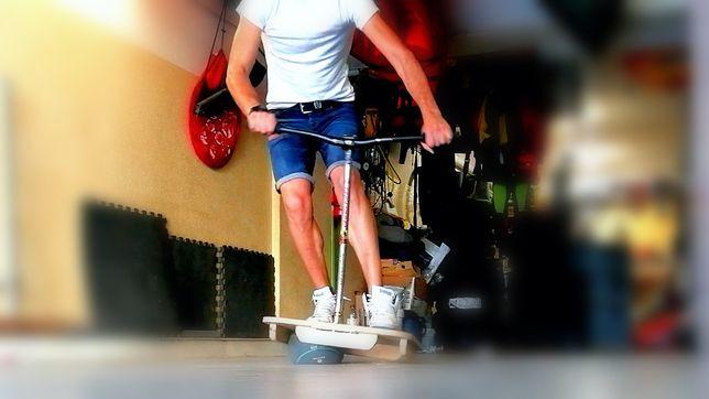 Prancha de equilíbrio BTT cópia da TOGU bike balance board