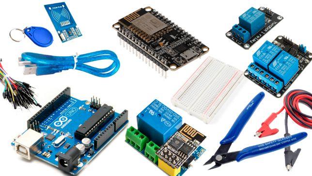 Arduino, ESPs, relés, eletrónica, ...