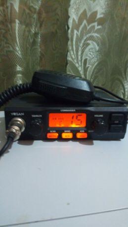 Комплект Си Би Рация радиостанция + Антенна НОВАЯ 27 мгц Автомобильная