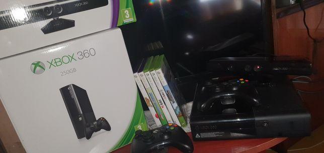 XBOX 360/ 250 GB/ kinect/ 35 gier