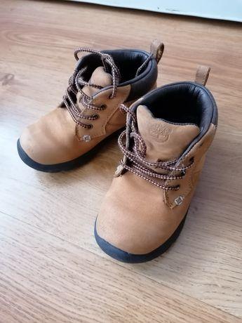 Timberland buty wiosenne jesienne skórzane skóra 25,5 miodowe