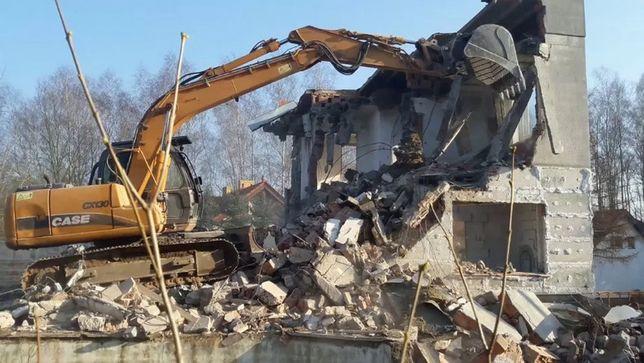 Kompleksowa rozbiórka i wyburzanie budynków! Wywóz gruzu, utylizacja.