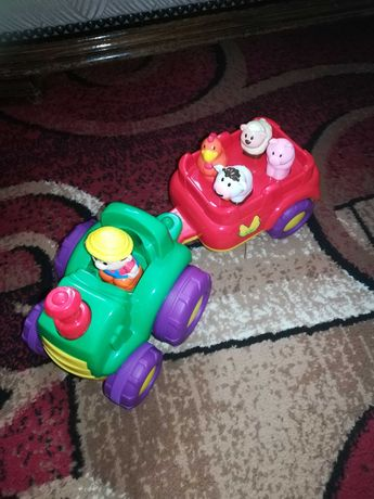 Interaktywny traktor ze zwierzętami