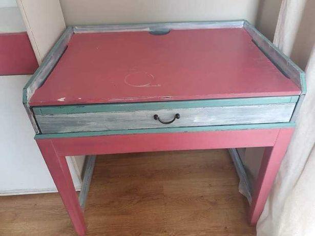 Meble dziecięce szafa biurko regał zestaw