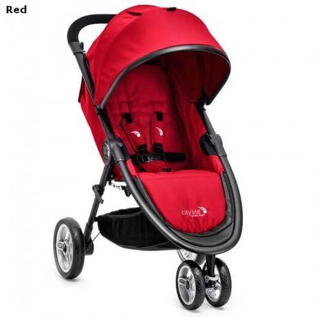 NOWY wózek spacerowy Baby Jogger City Lite czerwony