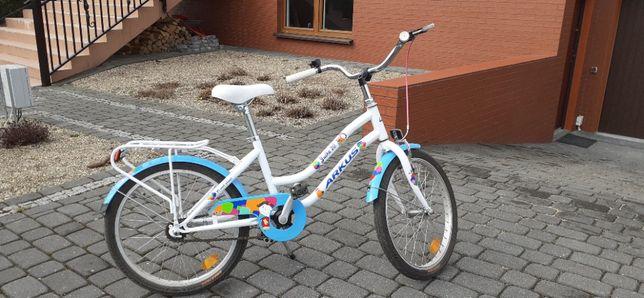 Rower dla dziewczynki 4-9 lat, Arkus & Romet Julka 20