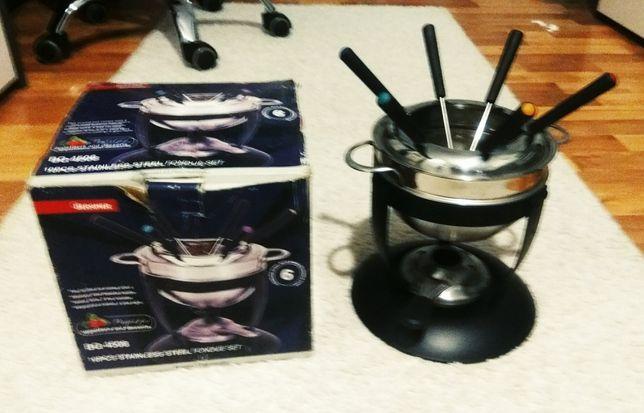 Fondue mini grill