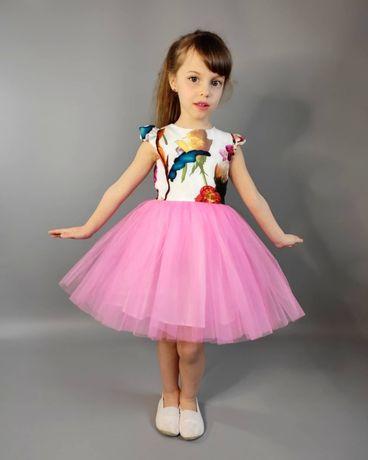 Платье пышное детское для девочки на выпускной 104,110,116,122,128