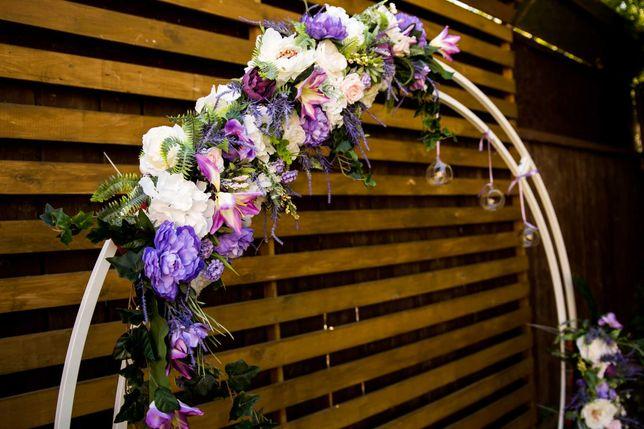 Цветы для свадебной арки