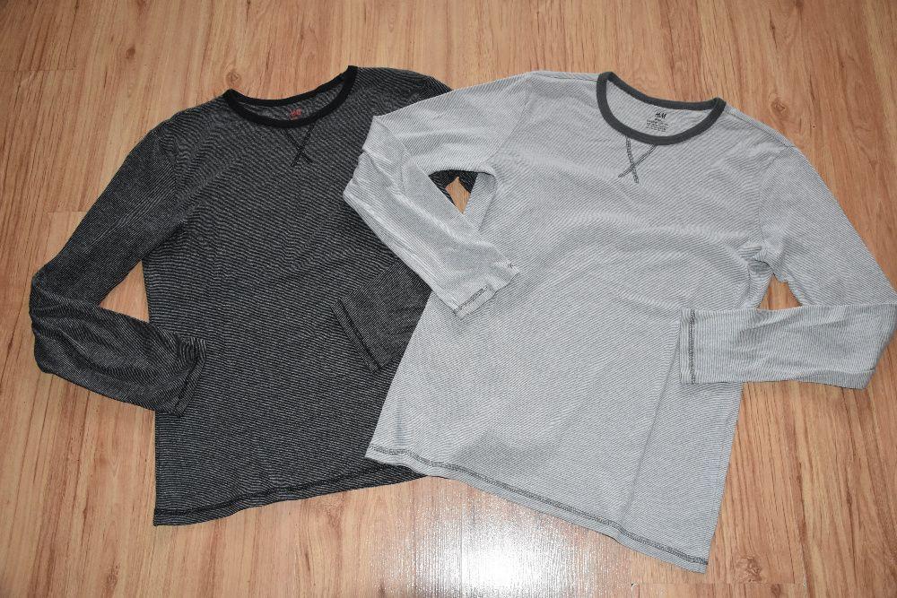 H&M dwie bawełniane bluzki roz 158/164 Jastrzębie-Zdrój - image 1