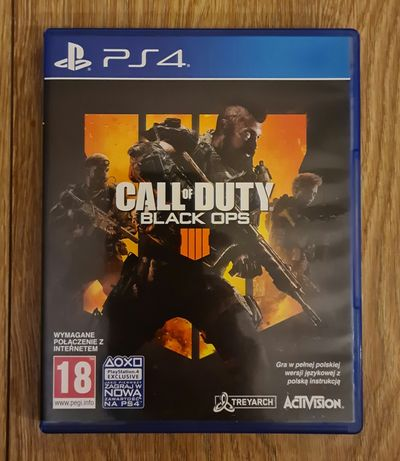 Call of Duty Black Ops 4 PL PS4