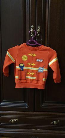 Bluza dziecięca strażak