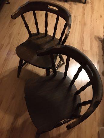 Krzesło drewniane bonanza