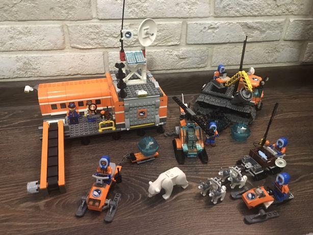 Конструктор LEGO CITY Arctic (оригинал) 60036 и 60032