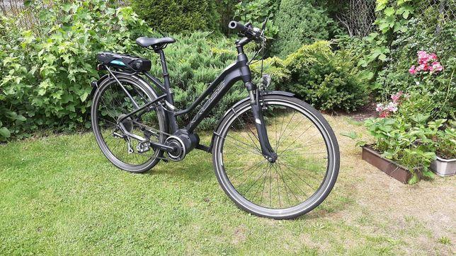 Elektryczny Kross Trans Hybrid 2.0, rower L 19cali, gwarancja jak nowy