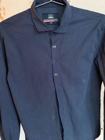 Продам мужскую рубашку с длинным рукавом xl