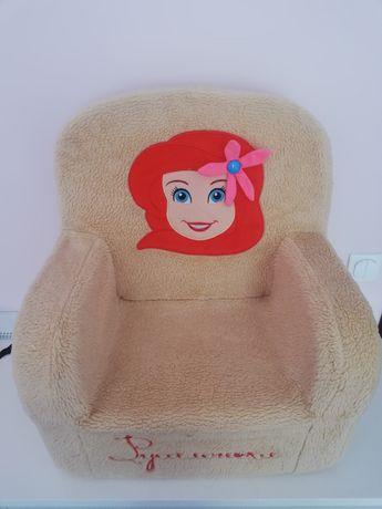 Детское мягкое кресло Русалочка