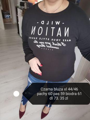 Bluza z nadrukiem plus size 44/46