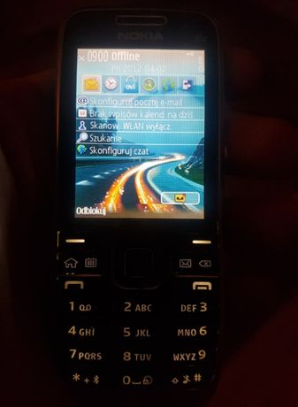 Telefon Nokia E52 cały zestaw 100% sprawny dwie baterie.