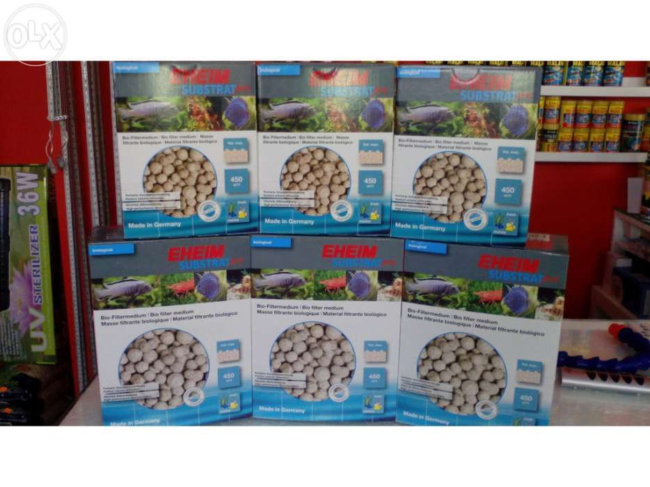 Substrat pro eheim para aquario novo embalagens de 2L