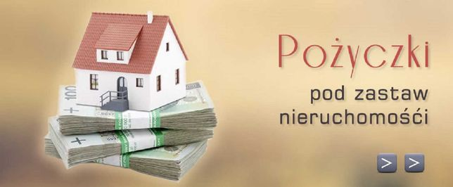 Pożyczka PRYWATNA pod zastaw nieruchomości!