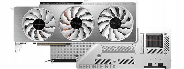 Karta graficzna Gigabyte GeForce RTX 3080 VISION OC 10G GDDR6 Nowa